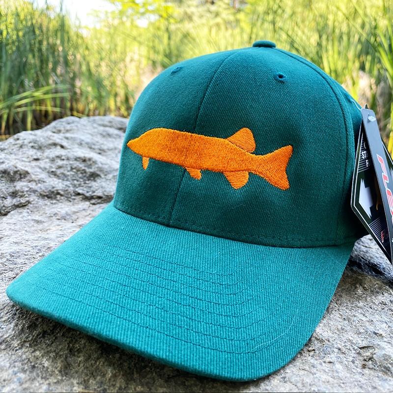 ШАПКА TWITCH FISHING FLEXFIT с щука