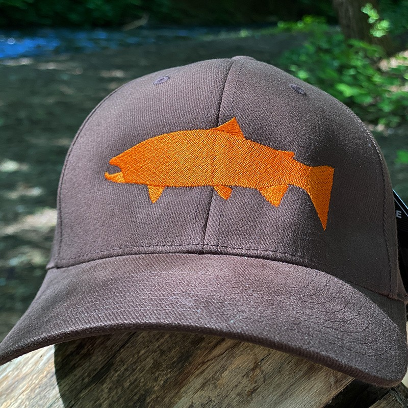 ШАПКА TWITCH FISHING FLEXFIT NEW BROWN