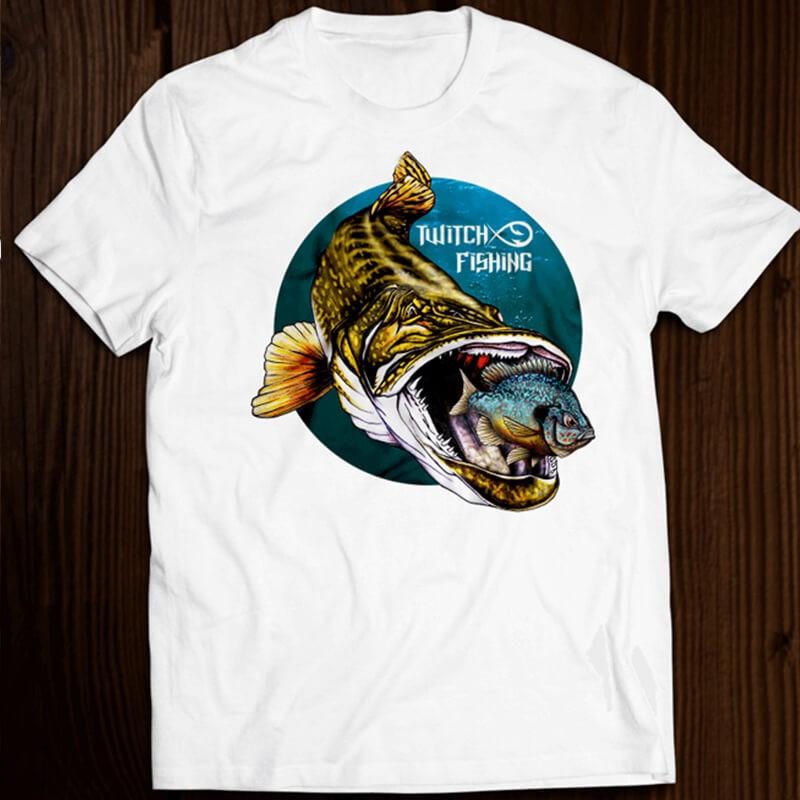Pike eat sunfish